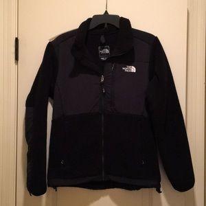 Women's The North Face Denali Black Jacket Sz M